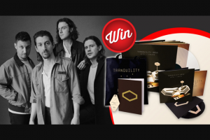Stack Magazine – Win a Huge Arctic Monkeys Prize-Pack