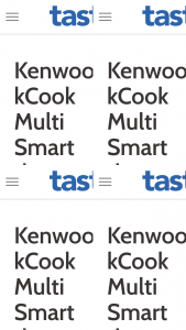 """Taste – """"win It – kenwood Kcook Multi Smart Thermo Cooker"""" (prize valued at $1,699)"""