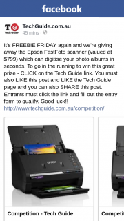 Techguide – Win this Great Prize