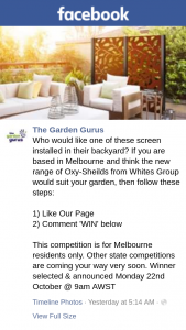 The Garden Gurus – Competition (prize valued at $145)