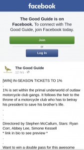 The Good Guide – Win a Double Pass for this Awesome Movie