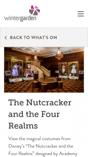 Wintergarden – Win a Double Pass to The Nutcracker and The Four Realms