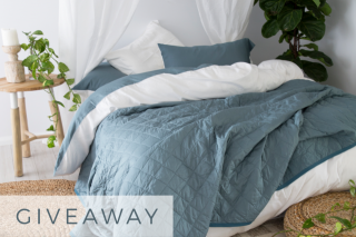 YoHome – Win 1 of 2 Bamboo Summer Quilts (prize valued at $180)