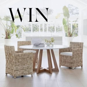 Coco Republic – Win a Dining Setting valued at $5,775