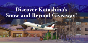 G'Day Japan – Win a trip for 2 to Katashina valued at $4,080