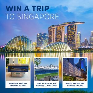 Holiday Inn Express Sydney Macquarie Park – Win a holiday for 2 in Singapore