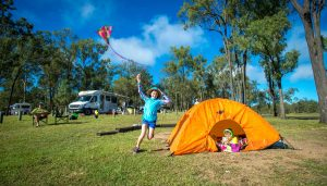 Holidays with Kids – Win a 7-day Britz Campervan holiday val