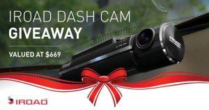 IRoad Australia – Win an IRoad X9 Dash Cam valued at $669