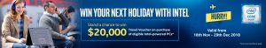 Intel – Win 1 of 6 Travel Experiences