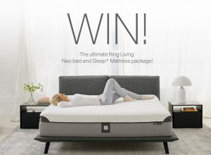 King Living – Win the ultimate bedroom package valued at up to $13,536