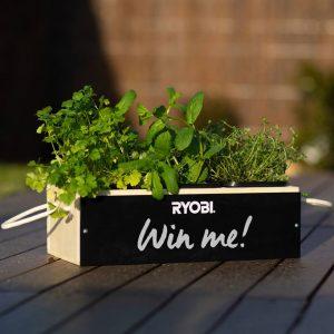 Techtronic Industries Australia – Herb Garden – Win 1 of 50 prize packs of 2 Ryobi Herb Garden flatpacks