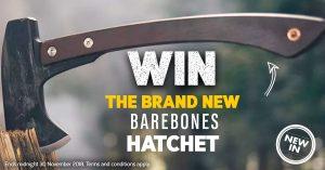 Wild Earth – Win the brand new barebones Hatchet