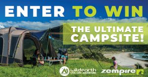 Wild Earth – Win the ultimate Zempire family camping package