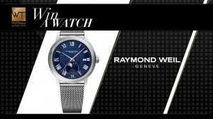 WorldTempus – Win a Raymond Weil Maestro Moonphase watch valued at CHF 1,650