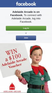 Adelaide Arcade – Win a $100 Adelaide Arcade Voucher (prize valued at $400)