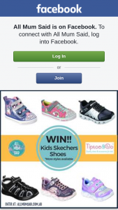 All Mum Said – Win a Pair of Kids Skechers Shoes From Tiptoe & Co (prize valued at $90)