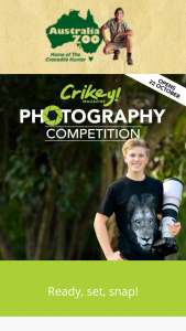 Australia Zoo – Over $3900 Worth of Photography Prizes (prize valued at $3,900)