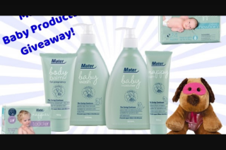 Away From The Blue – Win a Hamper Full of Mater Baby Products (prize valued at $110)