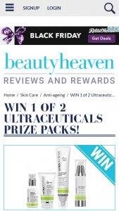 Beauty Heaven – Will Score a Ultraceuticals Prize Pack Containing