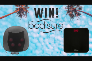 Bodisure – Win Bodisure Competition Terms & Conditions (t&c) 1. (prize valued at $170)