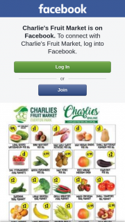 Charlie's Fruit Market – Win $100 Voucher (prize valued at $100)