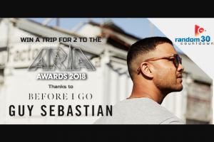 ChilliFM – Win Ticket to The Arias