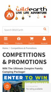 FB – Win a Zempire Camping Equipment Ultimate Package