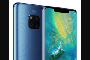Female – Win a Huawei Mate20 Pro Mobile Phone Valued at $1599.00. (prize valued at $1,599)