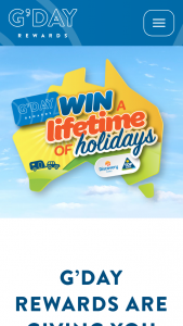 G'DAY Rewards – Win a Caravan Mitsubishi Pajero Site Accommodation & Fuel (prize valued at $131,099)