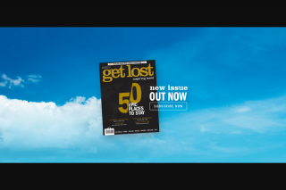 Get lost magazine – Win an Indian Safari for Two Into India's Famous Tiger Reserves (prize valued at $15,000)