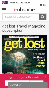Get Lost Travel Mag – Win an Indian Safari for Two Into India's Famous Tiger Reserves (prize valued at $15,000)