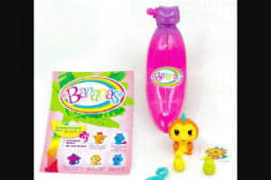 Girl – Win One of 20 X Bananas Collectable Toys Valued at $8.00 Each (prize valued at $8)
