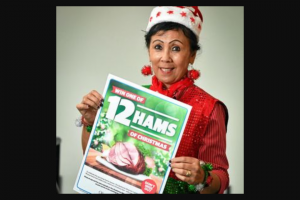Gladstone Observer – Win One of The 12 Hams of Christmas (prize valued at $1,200)