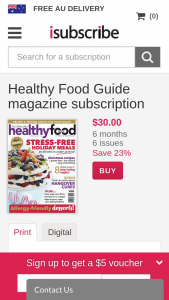 Healthy Food Guide Mag – Win a Brand New Sunbeam High Performance Power Blender Valued at $499 (prize valued at $499)