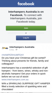 Interhampers Australia – Win a Sparkling Surprise Gift Hamper Filled a Lovely Selection of Sparkling Wine and Chocolates
