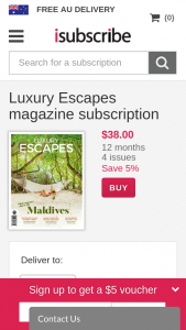 Luxury Escapes Mag – Win a Luxurious Holiday for Two In Bangkok Valued at $16000 (prize valued at $16,000)