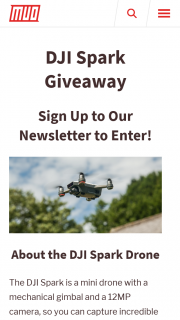 Make Use of – Win a Dji Spark Drone (prize valued at $399)