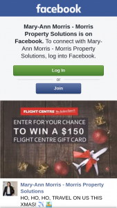 Mary-Ann Morris – Announced 23.11.18 (prize valued at $150)