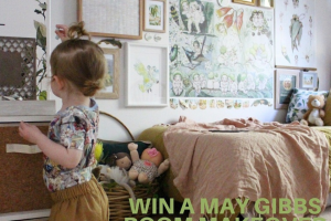 May Gibbs – The Chance to Create Their Own May Gibbs Themed Room (prize valued at $775)