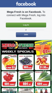 Mega Fresh Browns Plains – Win a $50 Fruit and Veg Voucher for Mega Fresh Browns Plains (prize valued at $50)