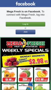 Mega Fresh browns plains – Win a $50 Fruit and Veg Voucher to Spend In Store .