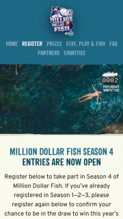 Million Dollar Fish – Recapture a BetEasy Tagged Fish & – Win The Cash Prize