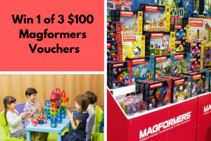 Mouths of Mums – 3 X $100 Vouchers to Spend on The Magformers Australia Official Webstore (prize valued at $300)