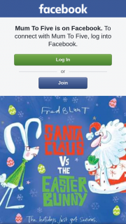 Mum to Five – Win 1 of 2 Copies of Santa Claus Vs The Easter Bunny RRP $19.99 Purchase Online (prize valued at $40)