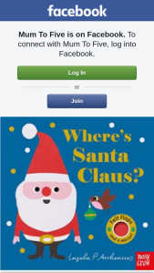 Mum to Five – Win 1 of 2 Copies of Wheres's Santa Claus