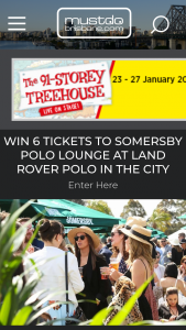 Must Do Brisbane – Win 6 Tickets for Them and Their Friends to The Somersby Polo Lounge on Saturday November 24 Valued at $516