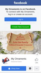 My Ornaments – These Three Adorable Hallmark Christmas Keepsake Ornaments