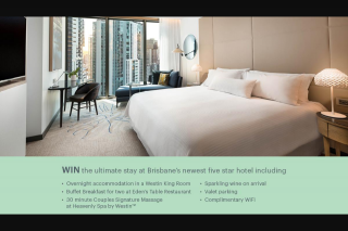 Nova 106.9 FM – Win The Ultimate Stay at Brisbane's Newest Five-Star Hotel