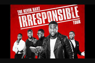 Nova FM – Win Your Way to Kevin Hart (prize valued at $200)