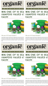 Organic Gardener – Win One of 10 Seasol Hampers Valued at $50 Each (prize valued at $50)